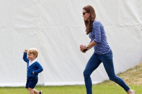 Kate Middleton Prince George Festival of Polo Crocs