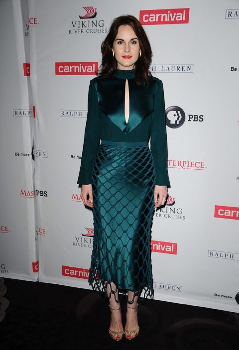 michelle dockery downtown abbey photocall