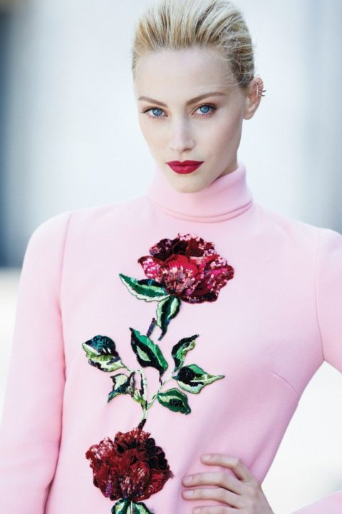 Fashion Magazine October 2015 Sarah Gadon