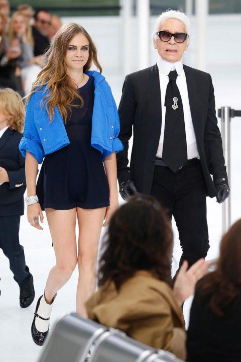 paris fashion week spring 2016 front row cara delevingne