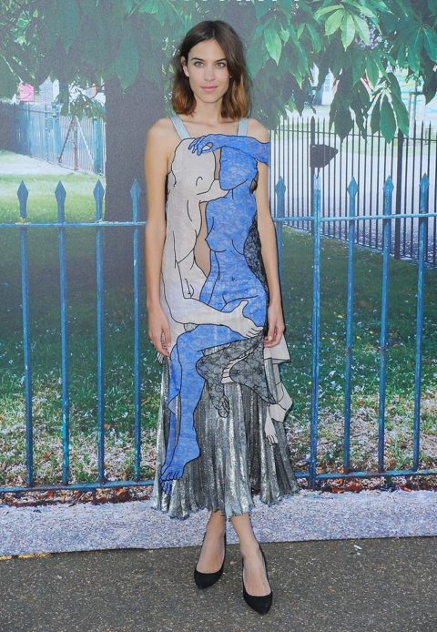 best dressed celebrities 2015 alexa chung