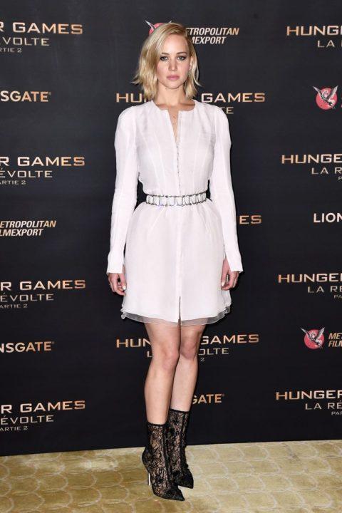 best dressed celebrities 2015 jennifer lawrence