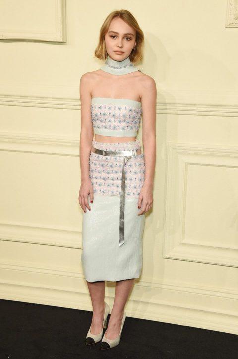 best dressed celebrities 2015 lily rose depp