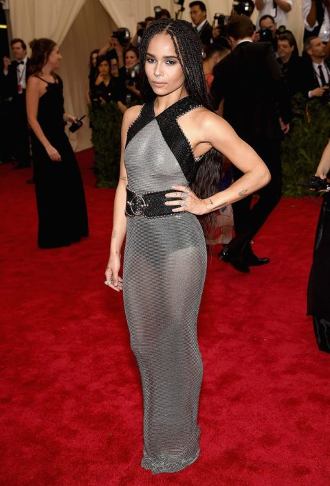 best dressed celebrities 2015 zoe kravitz