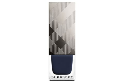 blue beauty products burberry