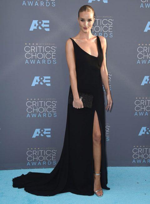 critics choice awards 2016 red carpet rosie huntington-whiteley