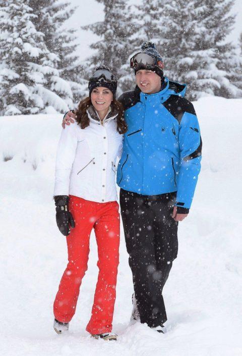 Kate Middleton family ski 02
