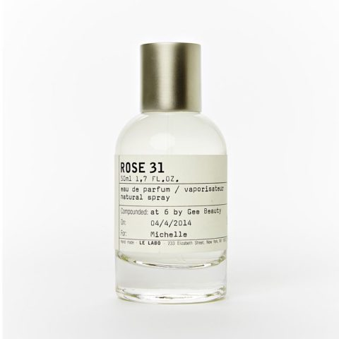 beauty products minimalist packaging le labo