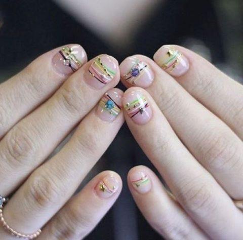 bracelet nails trend