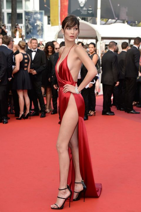 cannes 2016 bella hadid the unknown girl