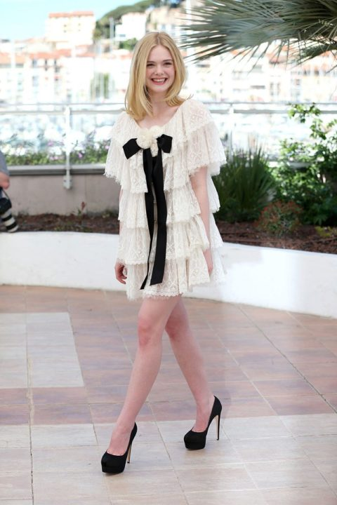 cannes 2016 elle fanning the neon demon photocall