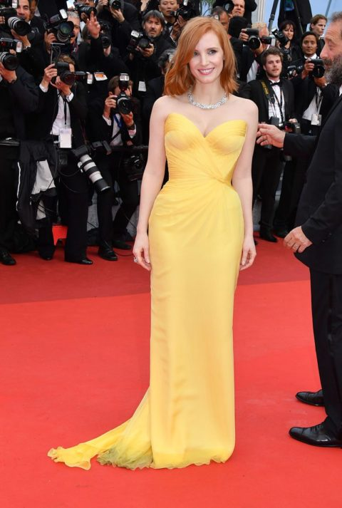cannes 2016 jessica chastain cafe society premiere