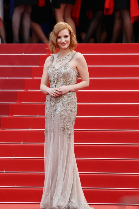 cannes 2016 jessica chastain money monster premiere