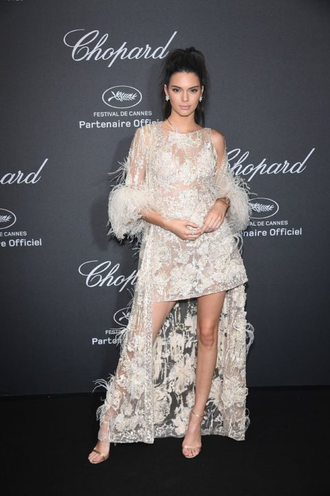 cannes 2016 kendall jenner chopard wild party