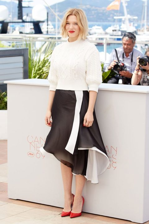 cannes 2016 lea seydoux it's only the end of the world photocall