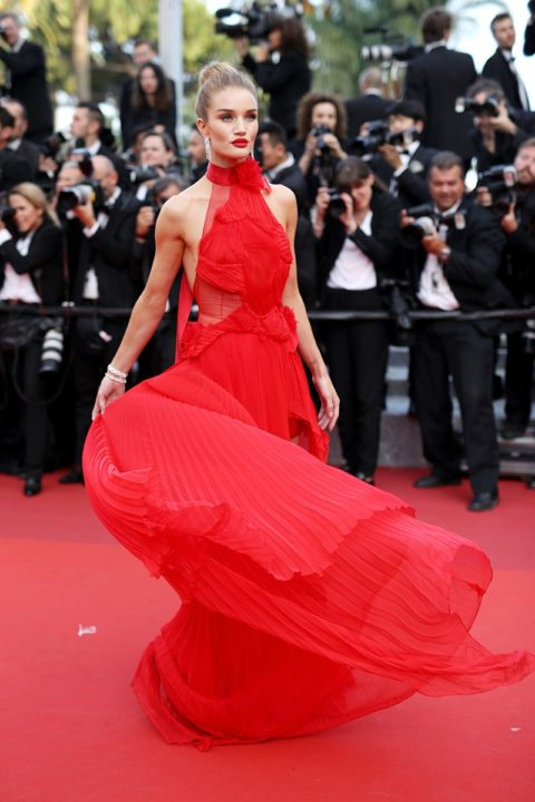 cannes 2016 rosie huntington-whiteley the unknown girl