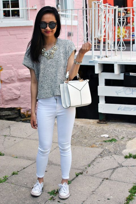 how to style bags adrienne naval