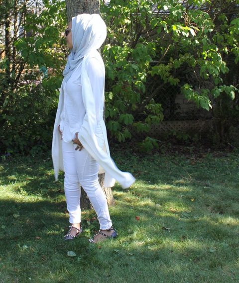 how to wear the all white trend hafsa pathan