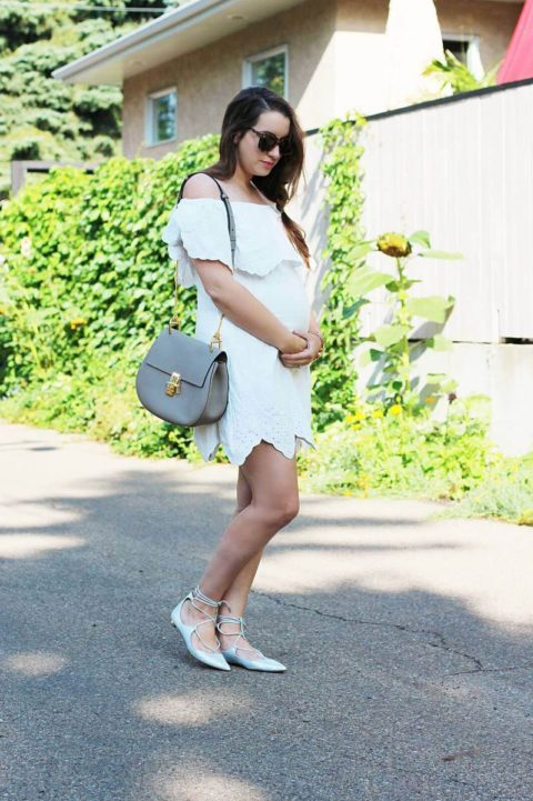 how to wear the all white trend kira paran
