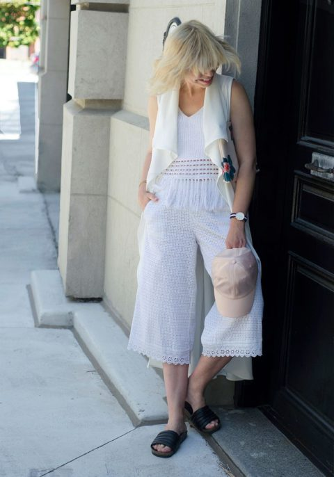 how to wear the all white trend liat neuman