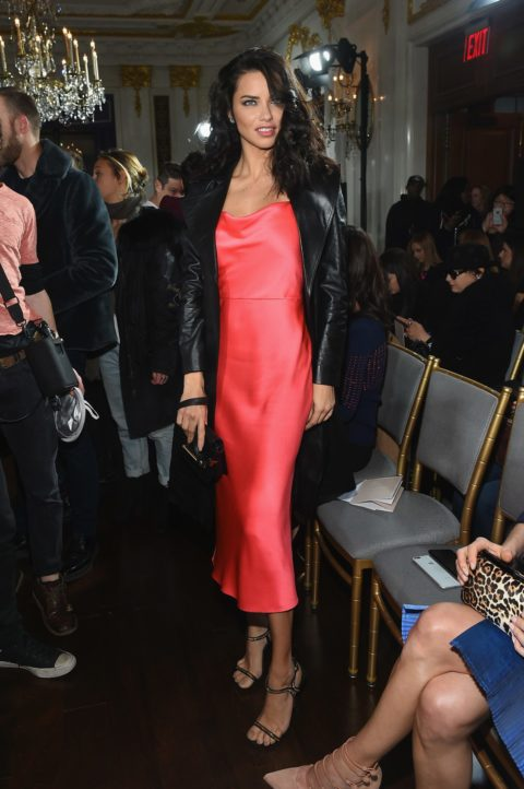 Celebrities Sitting Front Row at NYFW
