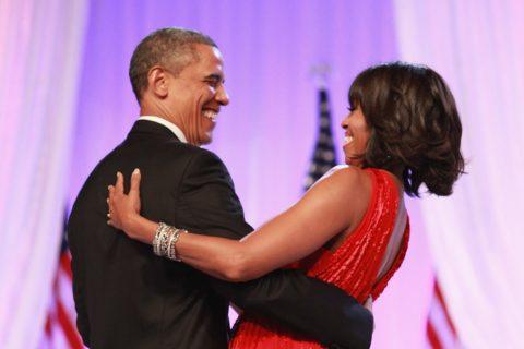 the Obamas Valentines Day