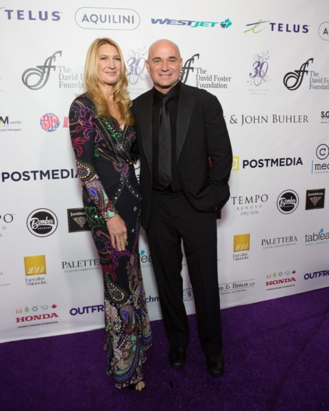 David Foster Foundation Fundraiser Red Carpet