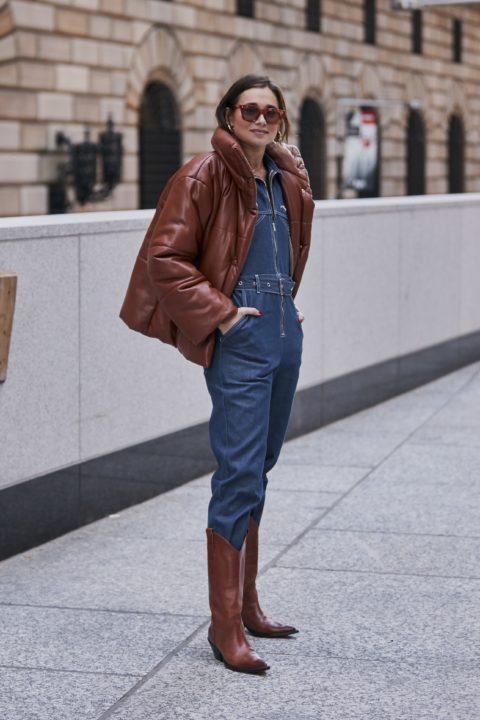 NYFW Street Style Boots