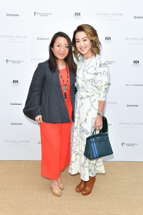 Suzanne Rogers Presents Victoria Beckham Spring 2020