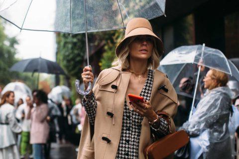 Rainy Day Street Style