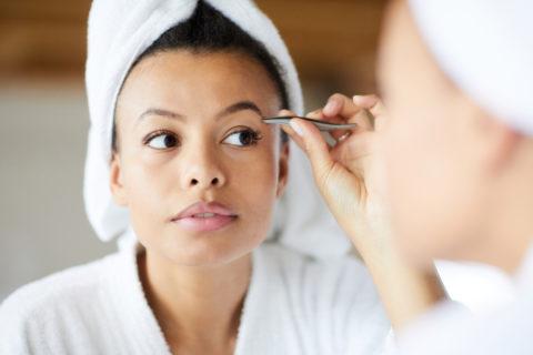 at-home brow maintenance