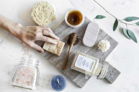 stress relieving beauty products