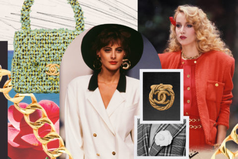 vintage Chanel farfetch