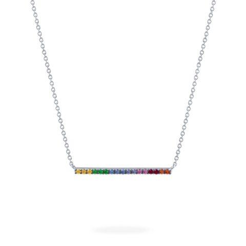 birks rainbow necklace