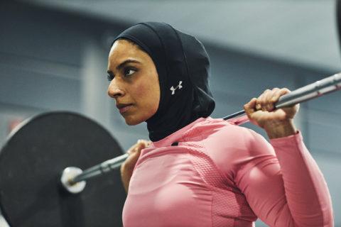 saman munir fitness hijab