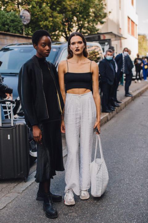 milan fashion week street style ss21