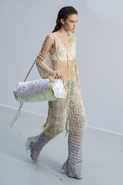 Acne netting dress