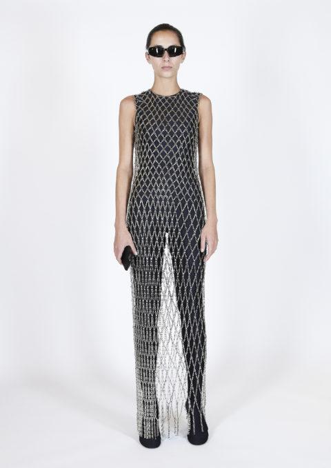 Balenciaga netting dress