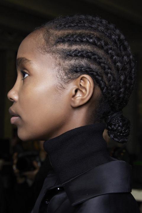 curly hairstyles at Kristina Fidelskaya