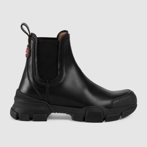 Gucci Lug Sole Boots