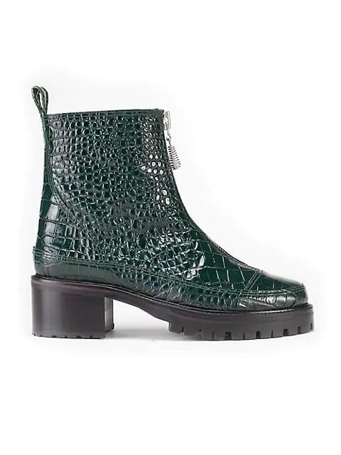 Nicole Saldana Lug Sole Boots