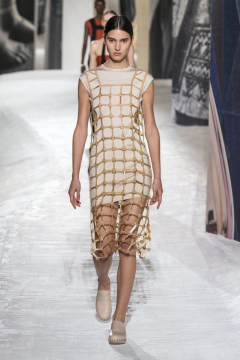 Hermes netting dress