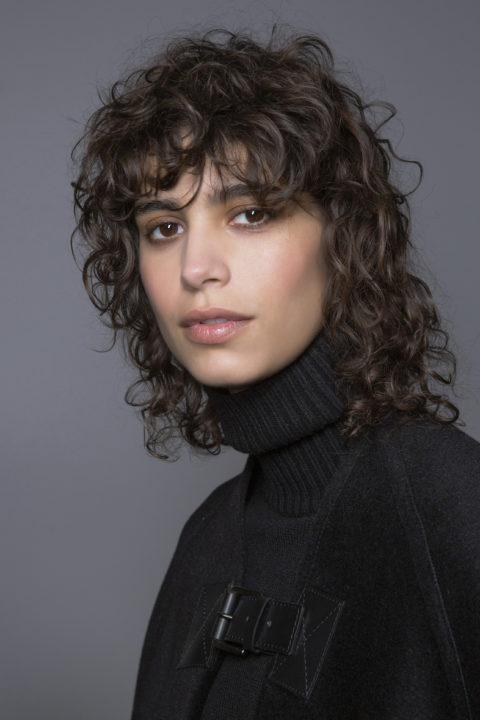curly hairstyles at michel kors