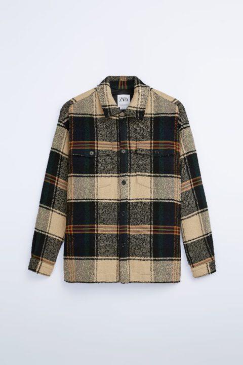 Zara Fall Shirt Jackets