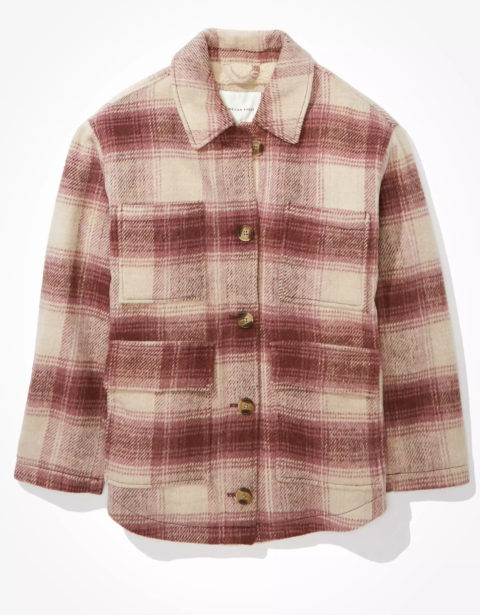American Eagle Fall Shirt Jackets