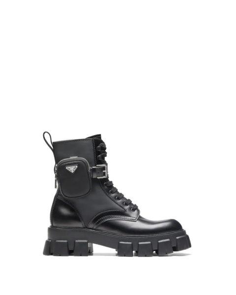 Prada Lug Sole Boots