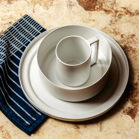 Pearl Stoneware Dinner Set