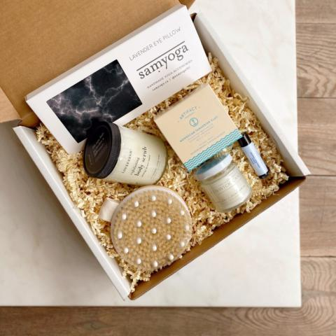 At-home spa gift box