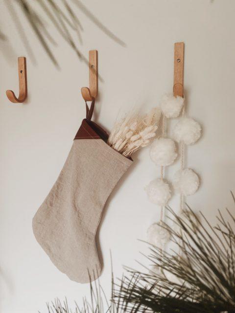 Minimalist Christmas Stocking