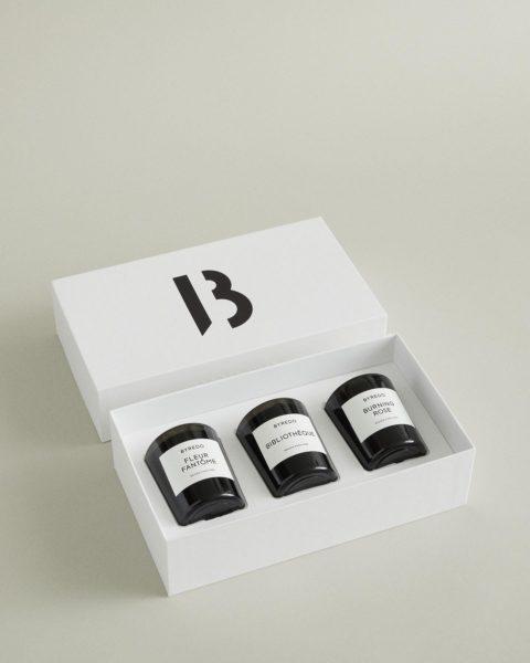 Mini Trio Candle Set: Violette